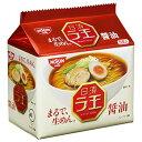 日清 ラ王 醤油 袋麺  1箱(5食パック×6)