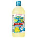 味之素 丝毫进入kyanora油1000g 10个1箱[味の素 さらさらキャノーラ油 1000g 10本入り1箱]