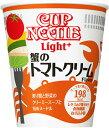 ◎日清 カカップヌードルライトプラス 蟹のトマトクリーム 1箱(12個入り)