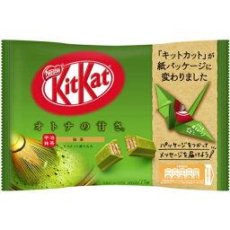 【送料無料】ネスレ <strong>キットカット</strong> ミニ オトナの甘さ <strong>抹茶</strong> 156枚 (13枚×12袋) Kitkat mini 緑