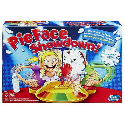 Pie Face Showdown Game【送料無料】パイフェイス パイ投げ 顔面パイゲーム パーティーゲーム ボタン連打対決 ゲーム※激安品のため、ラッピング不可※沖縄・九州・北海道・離島は送料別です。