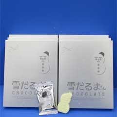 Snowman chocolate 18 pieces make ishiya's famous 'white lover', x 6 box ★