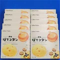 【北海道限定】カルビー・ポテト ぽてコタン 16g×6袋入×10個
