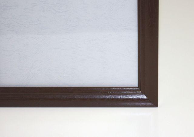 【取寄商品】ジグソーパズル用木製フレーム『木製パネル 73×102cm(20-T)ブラウン』