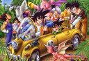 1000ピースジグソーパズル ドラゴンボールZ ジャングルドライブ 《廃番商品》