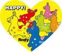 ミニパズルハート68ピース HAPPY!(ロディ) 《廃番商品》