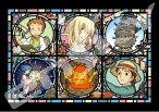 アートクリスタル208スモールピースジグソーパズル『ハウルの動く城 魔法の城便り』
