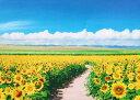 【取寄商品】★33%off★500ピースジグソーパズル『青空に輝くヒマワリ畑-北海道』