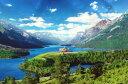 ■1000ピースジグソーパズル『ウォータートン・グレーシャー国際平和自然公園[アメリカ/カナダ]』《
