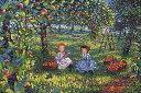 ■1000ピースジグソーパズル『赤毛のアン 果樹園』《廃番商品》