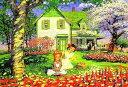 ■1000ピースジグソーパズル『赤毛のアン 花の季節』《廃番商品》