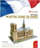 ★2割引!!★立体パズル『3Dパズル ノートルダム寺院(世界遺産:フランス・パリ)』