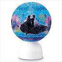 ★35%off★3D球体60ピースジグソーパズル『パズランタン ウィンターズ・ワルツ(アナと雪の女王)(3色発光)』