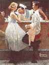 ◆希少品◆500スモールピースジグソーパズル『初めてのデート(ノーマン・ロックウェル)』《廃番商品》