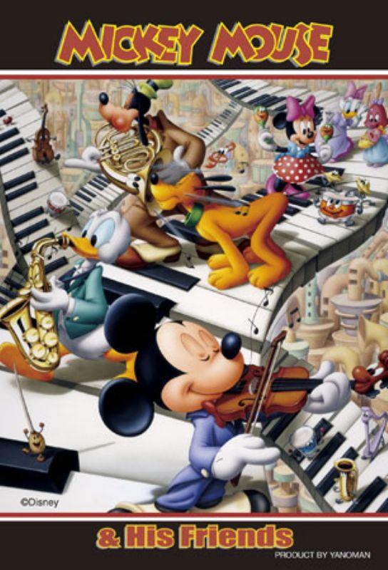 プチパズル204ピース『コンサート(ミッキー&フレンズ)』