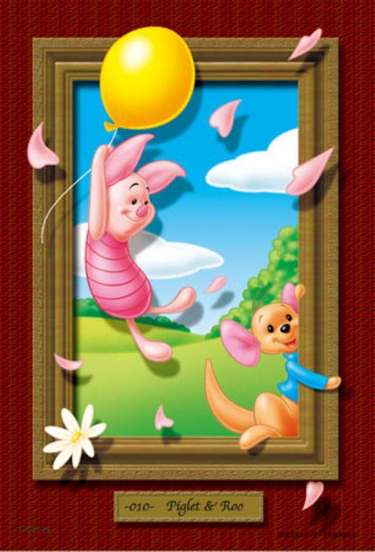 プチパズル204ピース『マジカルアートギャラリー ピグレット&ルー』《カタログ落ち商品》