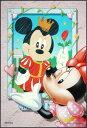 プチパズル204ピース『ミニーdearミッキー』《廃番商品》