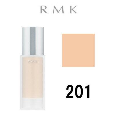 【 定形外 送料無料 】 RMK ジェルクリーミィファンデーション 【201】 30g SPF24 PA++ ( リキッドファンデーション / アールエムケー / ルミコ ) 『2』