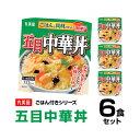 【丸美屋食品】五目中華丼 ごはん付き×6食