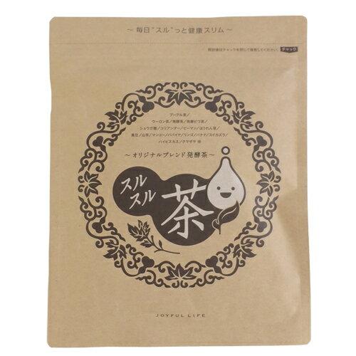 【送料無料】 高発酵プーアル、黒ウーロンのちから スルスル茶 15包 DM便 P20Aug16