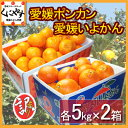 【送料無料】訳あり愛媛ポンカンといよかんセット10kg(各5kg×2箱)