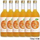 【ケース販売】みかんのお酒 720ml 1ケース(6本セット) 國盛 中埜酒造 リキュール み