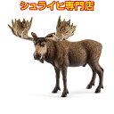 シュライヒ ヘラジカ オス 14781 動物フィギュア ワイルドライフ Wild Life 森林 Forest schleich