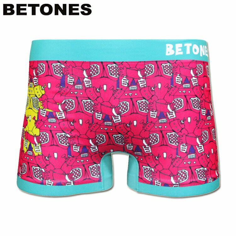 BETONES ビトーンズ シームレスボクサーパンツ ULTRA SERIES ウルトラシリーズ キングジョーxウルトラセブン エメラルド