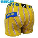 ショッピングボクサーパンツ TORIO トリオ ボクサーパンツ タテシマ イエロー