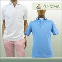 【送料無料】 GUY ROVER GUYROVER ギローバー 半そで ポロシャツ スキッパー コットン100% ターコイズ(水色) サイズ:XS/S/M/L/XL (guyrover_2260202) 【smtb-k】【kb】