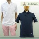 【送料無料】 GUY ROVER GUYROVER ギローバー 半そで ポロシャツ スキッパー コットン100% ネイビー(紺) サイズ:XS/S/M/L/XL (guyrover_2260203)【smtb-k】【kb】