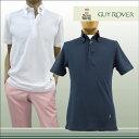 【送料無料】 GUY ROVER GUYROVER ギローバー 半そで ポロシャツ ボタンダウン コットン100% ネイビー(紺) サイズ:XS/S/M/L/XL (guyrover_2260206) 【smtb-k】【kb】