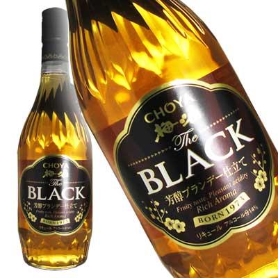 チョーヤ TheBLACK(ザ・ブラック) 梅酒...の商品画像