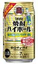タカラ 焼酎ハイボール 強烈塩レモンサイダー割り 350ml缶 バラ 1本