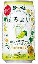 【よりどり2ケースで送料無料】サントリー ほろよい 白いサワー 香るマスカット 350ml×24缶 1ケース 【限定】