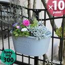 植木鉢 gardens(ガーデンズ) ハンギングエコポット 300 4L[八幡化成]【20P03Dec16】【ポイント10倍】