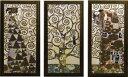 「ラルベロ デラ ヴィータ」グスタフ クリムト【送料無料/通信販売】(世界の名画・クリムトアートポスター[絵画通販])【壁掛けフック付き】【絵のある暮らし】