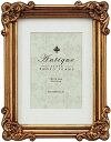 「アンティークスタイルフォトフレーム キャビネ アンティークゴールド 」ラグジュアリー アンティーク (フォトフレーム 写真たて)(結婚祝い ウエディング)(出産祝い 出産内祝い)【絵のある暮らし】