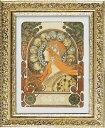 「ゾディアック」アルフォンス・ミュシャ(世界の名画・アルフォンス・ミュシャ  アートポスター[絵画通販])【壁掛けフック付き】【絵のある暮らし】