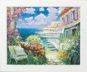 「目覚めのキス Lサイズ」マルコ マヴロヴィッチ・風景画アートポスター[絵画通販]【壁掛けフック付き】【絵のある暮らし】
