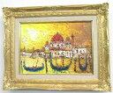 「ベニス」渡部ひでき【送料無料/通信販売】(F4サイズ油彩画[油絵](直筆油彩画)・外国風景画・イタリア(ベニス)[絵画通販])【絵のある暮らし】