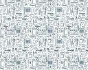 デジタルプリント壁紙 ポップ柄 p019 460mm×10m【アサヒペン】