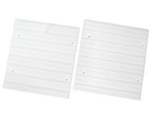 縦置き用 カラーボックス用 レールボード白 CXR-38 2枚1組アイリスオーヤマ 収納家…...:kurashikenkou:10000468