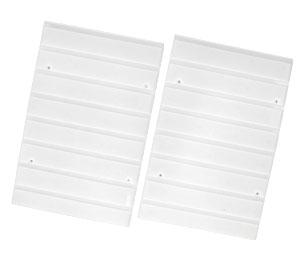横置き用 カラーボックス用 レールボード白 CXR-27(2枚1組)アイリスオーヤマ 収納…...:kurashikenkou:10000469