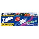 《A》【食品用保存袋】ジップロック【Ziploc】イージージッパー 中 10枚入り【D】