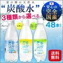 炭酸水 強炭酸 蛍の郷の天然水 500ml 48本対応 送料無料 強炭酸水 炭酸 プレーン レモ