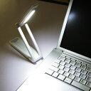 乾電池式ポータブルLEDライト LSM-55 ホワイト 【アイリスオーヤマ】