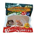 小動物トイレ用木製の砂 ウッディフレッシュミニ 1.5L【アイリスオーヤマ】(ご家庭、ご家族のハムスターリスに・ペット用品・トイレ用品・トイレタリー)