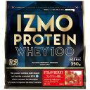 IZMO ホエイプロテイン ストロベリー 350g 筋トレ 体づくり タンパク質 サポート ALPRON アルプロン 【TD】 【代引不可】