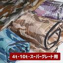 【4トン・10トン・スーパーグレイト車用】 高機能ポリエステル トラック専用寝袋 77cm×205cm エアーパック 大型車専用 トラックふと..